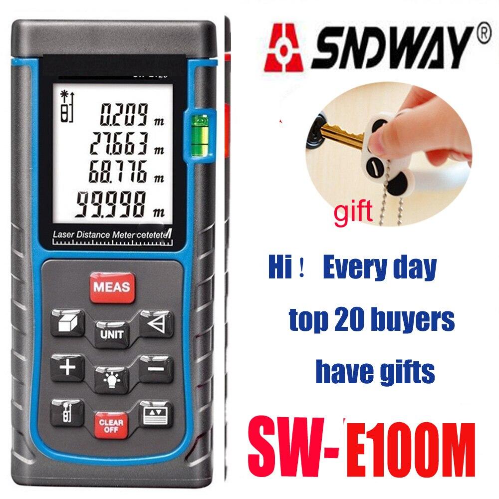 Range finder 80m 100m 120m 150m Digital Distance meter , Electronic ruler ,Big Bubble level Tape measure Area/volume tool цена