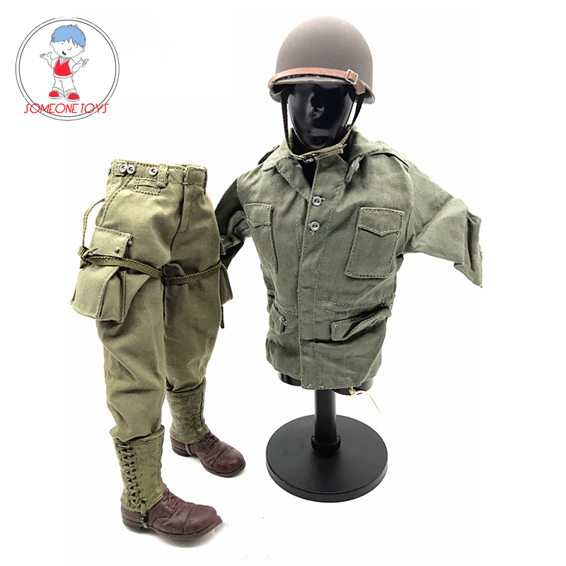 """1//6 Men Camouflage Soldier Combat Set For 12/"""" Phicen Hot Toys Male Figure U.S.A."""