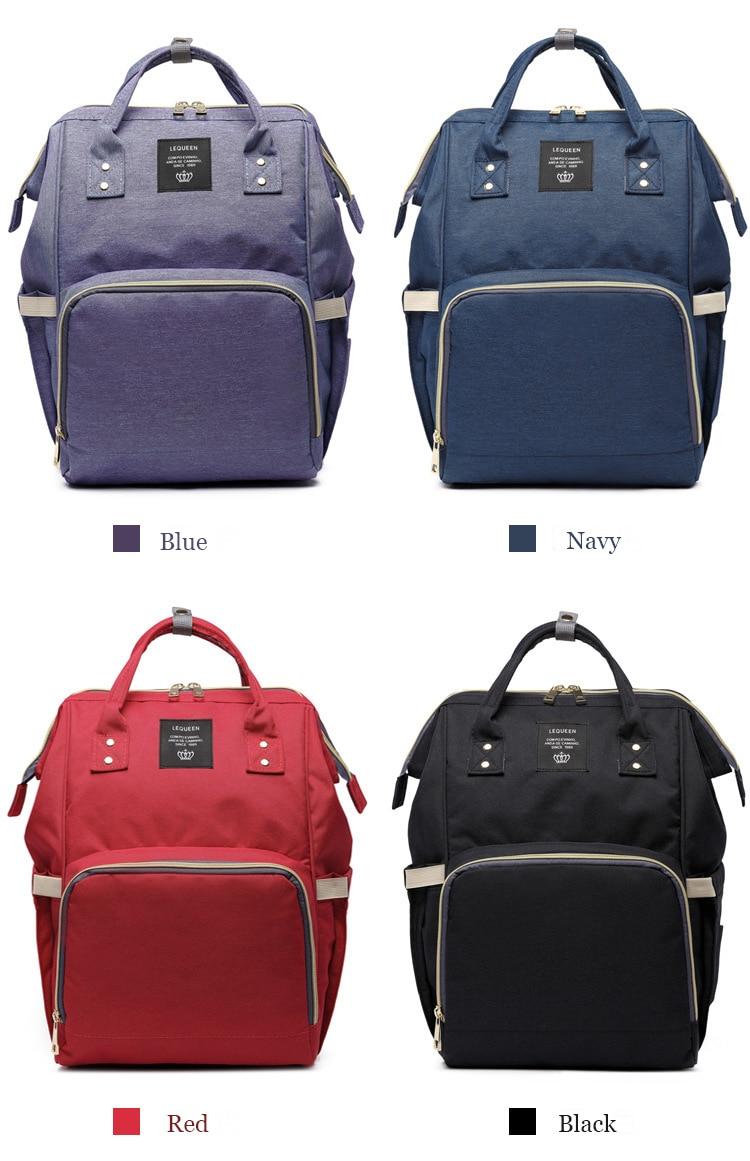 HTB1ASh7bzzuK1RjSspeq6ziHVXae Drop Shipping Lequeen Nursing Care Baby Bag Stripe Diaper Bag Nappy Bag Organizer Waterproof Maternity Bag