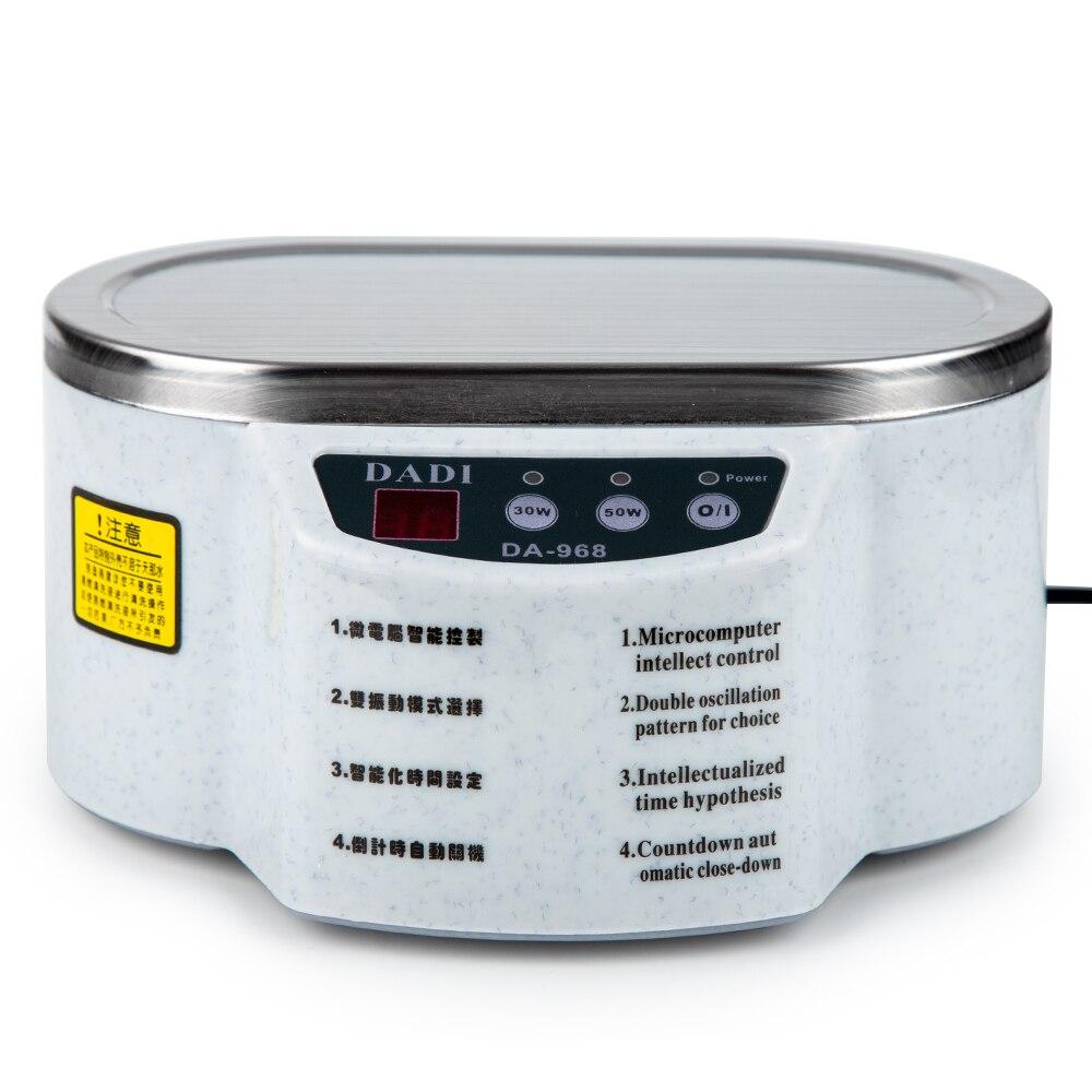 600 мл ультразвуковой очиститель ювелирных изделий очки печатная плата машина для очистки интеллектуальное управление ультразвуковая чистка ультразвуковая ванна
