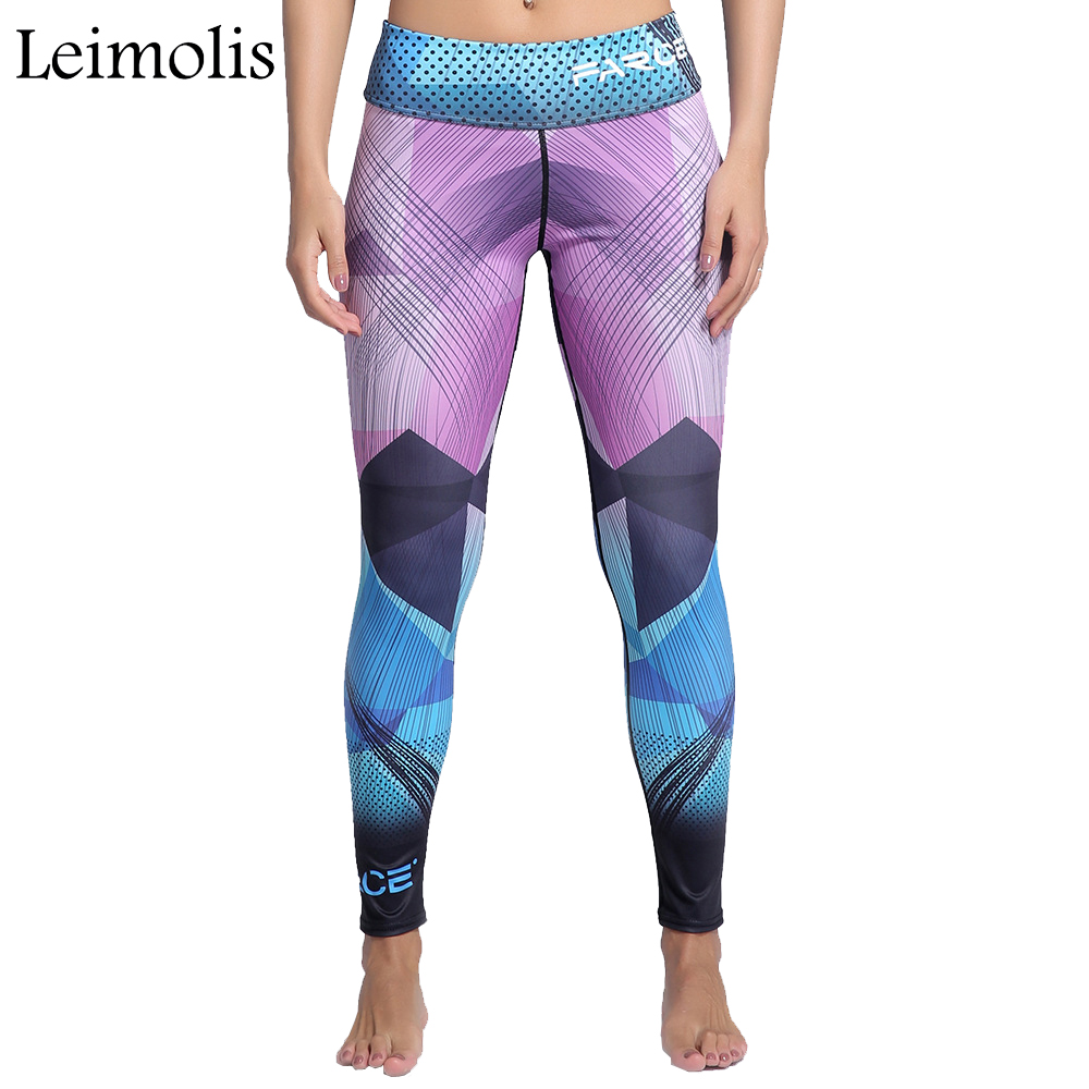 Leimolis 3D print Geometric Cyclone winter Harajuku High Waist workout push up plus size fitness leggings women pants