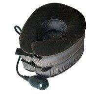 5 Stücke Hals Gebärmutterhalskrebs Zugvorrichtung Luft Weiche Aufblasbare Kragen Traktion Klammer Gerät Komfortable Hals Massage Pflege Zubehör