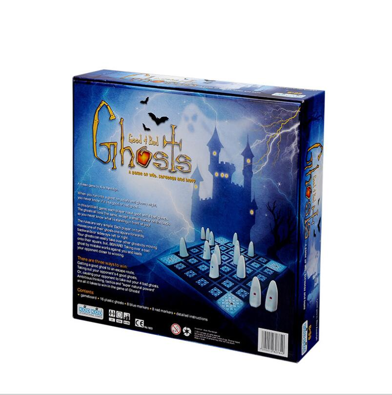 New Ghost good&bad Board Game Paper/Plastic Chips 2-4
