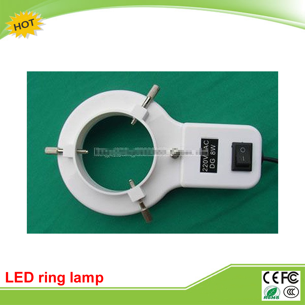 Microscope lamp fluorescent tube annular LED ring adjustable light microscope ring light microscope d fluorescent lamp