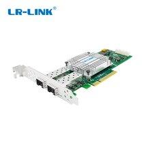 LR LINK 1002PF 2SFP + 10 Gb fibra óptica placa de rede lan ethernet adaptador de rede PCI Express card Nic Chip de Doméstica