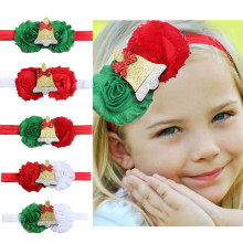 VTOM 1PC Baby Kids Girls Headband Hair Bands Children Accessories Baby  Christmas Hairband  Headwear Christmas Gift amazing fashion 1pc girls kids pearl headband bow lace headband flower headwear children hair accessories