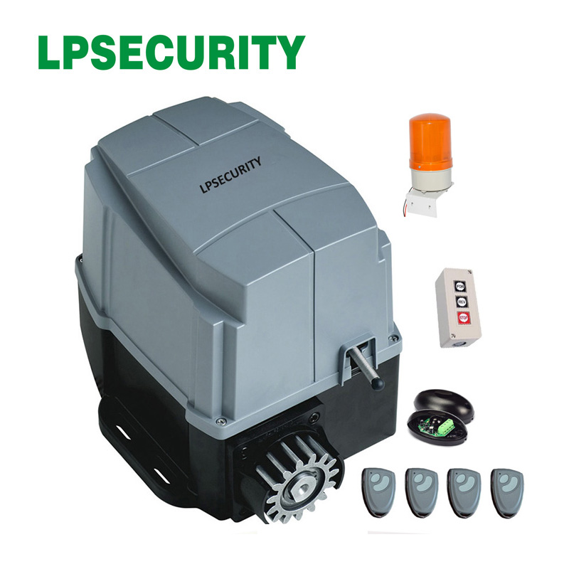 LPSECURITY 800kg AC engine automatic gate system electric sliding gate opener motor foresee