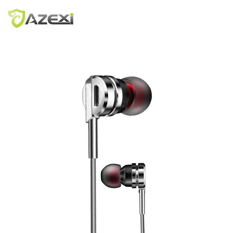 New Brand Beautiful Metal Earphone In-ear Dynamic 9mm Round 1.2M Suitable all Android iPhone Mp3 iPad devices for iPhone Huawei all new fiio f3 dynamic in ear monitors earphone with in line microphone and remote controls 3 5mm l shaped jack colorful earbud