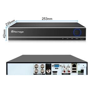 Image 3 - Techage H.264 4CH 8CH 1080P HDMI AHD CCTV DVR NVR HVR 1080N P2P ענן אבטחת וידאו דיגיטלי מקליט עבור אנלוגי AHD IP מצלמה