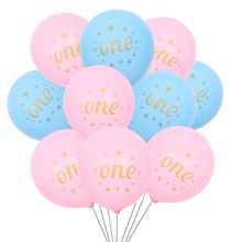 10pcs Its a Boy Balloons Birthday Ballons Baby Shower Girl Confetti Baloons Happy Decorations Kids