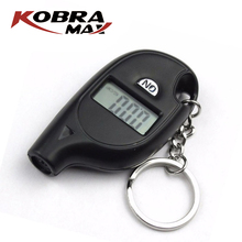 Portable Keychain Mini Digital LCD Tire Tyre Wheel Air Pressure Gauge Tester Procession Tool Tire Pressure Monitor