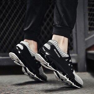 Image 3 - REETENE yaz erkek ayakkabı moda bahar açık ayakkabı erkekler rahat erkeklers ayakkabı rahat örgü ayakkabı erkekler için boyutu 36 48