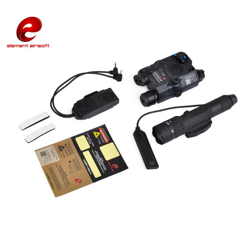 Element Hunting Weapon Lights Combo EX424 Tactical IR and Green Laser Tactical Light Combo With Remote Light Tail Switch Hunting
