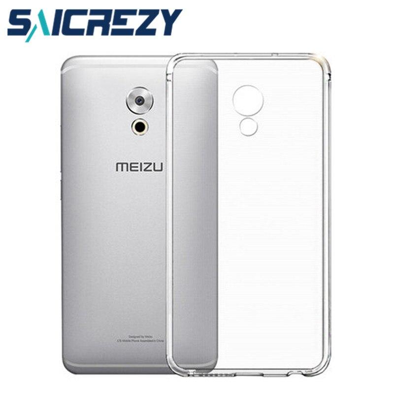 For meizu Pro 6 6s pro 6 plus cover U10 U20 M3E Meilan E case TPU soft back cover transpar