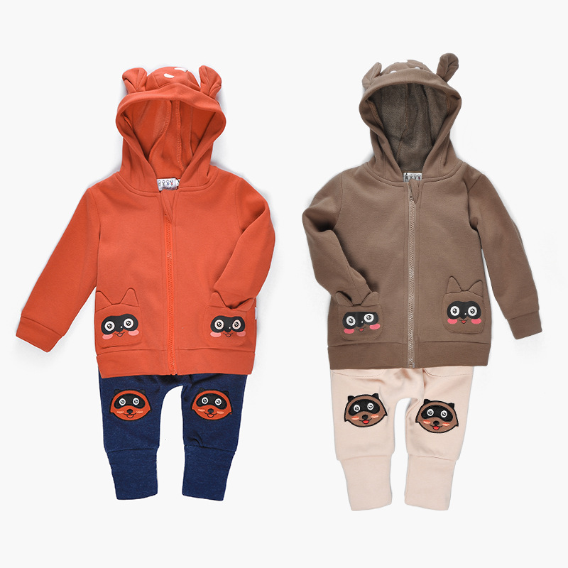 9M-3years Baby Clothing Sets Winter Warm Suit For Boys Clothes 100% Cotton Baby Girls Clothing Sets Christmas Costumes For Boys 2017 new children clothing sets baby girls boys winter warm clothes 2pcs cute panda velvet christmas outfits suit shirt pant