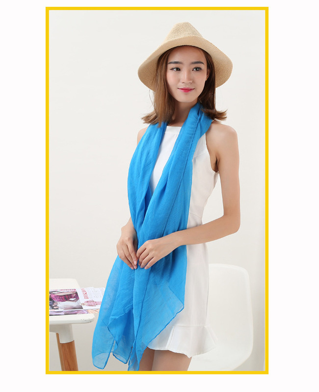 20pcs/lot New Ladies Neckerchief Tippet Hijabs Fashion Women Warm Scarf Long Candy Colors Soft Cotton Wrap Shawl Scarves