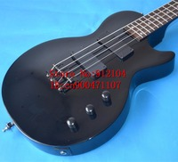 Free Shipping New Big John 4 Strings Electric Guitar In Black Musical Instruments LP Bass Guitar