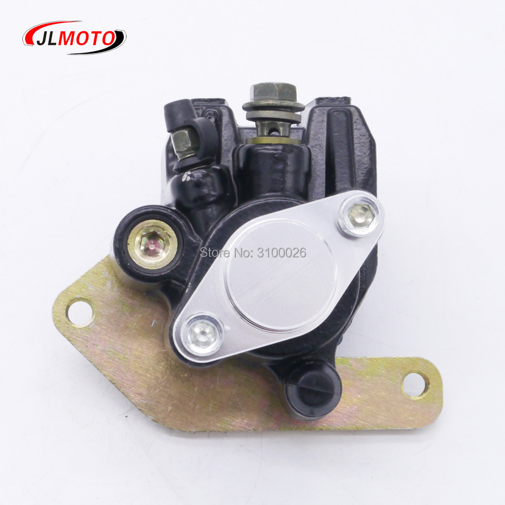 Rear Brake Caliper Fit For Yamaha ATV Wolverine 350 4x4 1995-2005 YFM350FXM YFM350 1UY-2580W-01-00 Quads Bike Parts