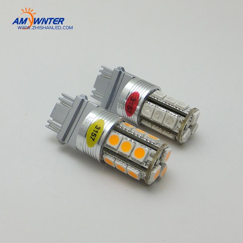 Velika snaga P27 / 7W 3157 LED dvostruka svjetlosna funkcija LED - Svjetla automobila - Foto 3