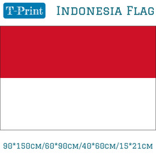 Free shipping 90*150cm/60*90cm/40*60cm/15*21cm Indonesia Flag Indoor Outdoor 3*5FT Festival Home Decoration For National Day 3 day pass fuji rock festival 2017 niigata
