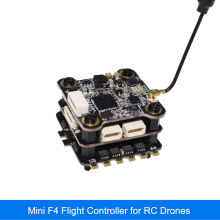 20x20mm HAKRC MiniF4 Flytower F4 Flight Controller for RC drones AIO OSD BEC and 20A BLheli_S ESC hot sale 30 5 30 5mm omni bus aio osd 5v bec current sensor f4 flight controller for rc multirotor quadcopter parts accessories
