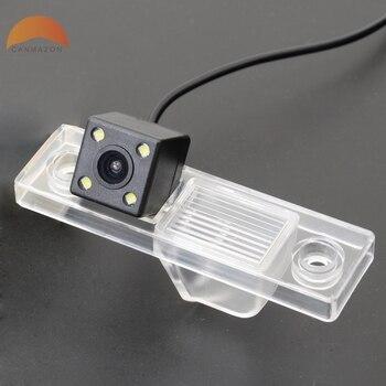 車のリアビューカメラシボレークルーズ 2009 2010 2011 2012 防水逆バックアップ LED CCD カメラモニターキットアクセサリー