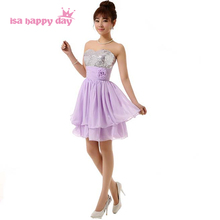 beautiful korean formal sweetheart neckline sequined strapless bride maid  bridesmaid dresses for girls bridemaids dress H2697 4e42852a081f