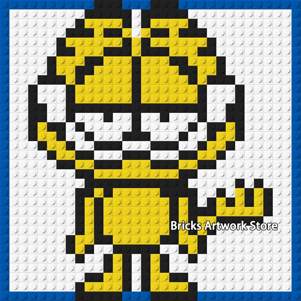 Us 1499 35 Off3232 Base Plate Pixel Art Mosaic Painting Diy Super Heroes Batman Garfield Stitch Icon Portrait Building Blocks Creative Gift In