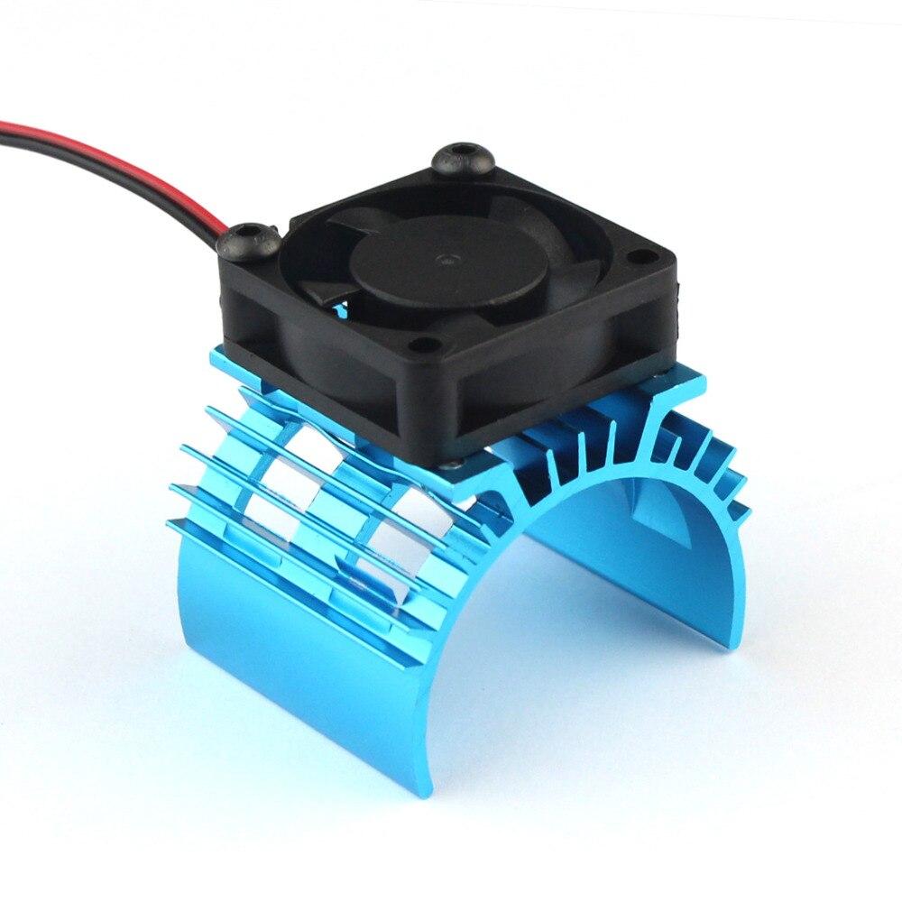 Теплоотвод с вентилятором JMT 540 550 3650, радиатор с вентилятором, вентиляционное отверстие, топ JST для 1/10 1/8 радиоуправляемого автомобиля HSP Wltoys, ...