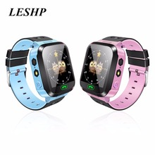 Y03 Smart Watch Kids Wristwatch Touch Screen GPRS Locator Tracker Anti-Lost Smartwatch Baby Watch With Remote Camera SIM Calls