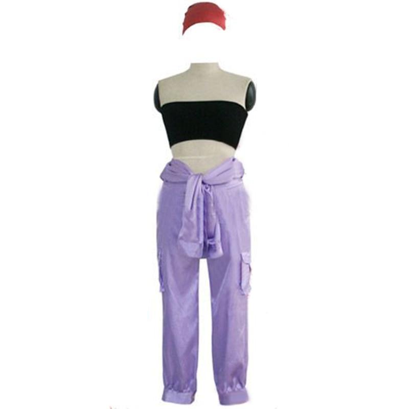 FullMetal Alchemist Winry Rockbell Working Anime Cosplay Costume Tops+Pants+Belt+Headband