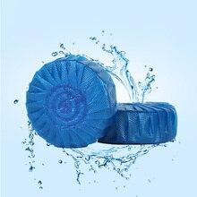 10 шт. Унитаз Очиститель таблетки антибактериальные очистки Tab синий пузырь для ванной может CSV