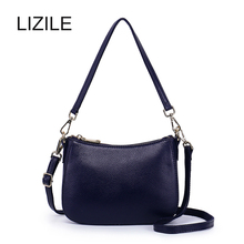 Genuine leather women's handbag 2016 autumn and winter soft first layer of cowhide shoulder bag messenger bag small bag mini bag стоимость