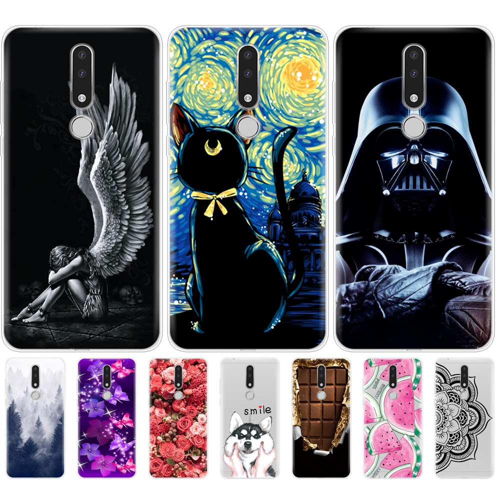 For <font><b>Nokia</b></font> <font><b>3.1</b></font> <font><b>Plus</b></font> Case Silicone Soft TPU Back phone Cover for Nokia3.1 For <font><b>Nokia</b></font> <font><b>3.1</b></font> <font><b>Plus</b></font> 2018 Case bumper protective coque image