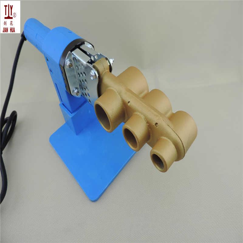 Shippng libre general 32 mm AC220V / 110 V 600 W plomero herramientas de plástico / PP-R / PERT máquina de soldar tubo tubo soldadores calefacción automática