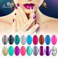 Saviland Color Nail Polish UV Gel vanish gel lacuqer Soak Off Mood Gel nail polish enamel Latest Fashoin long lasting hot sale