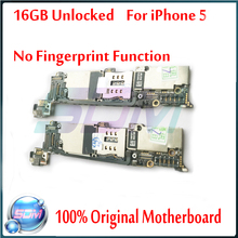 100% Full Completely Original & Unlocked 16G Mainboard For iphone 5 5g Motherboard with Chips,100% Good Working Free Shipping
