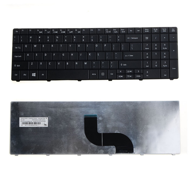 Laptops Replacements Accessories Keyboards Fit For Acer Aspire E1-521 E1-531 E1-531G E1-571 E1-571G Notebook Keyboards