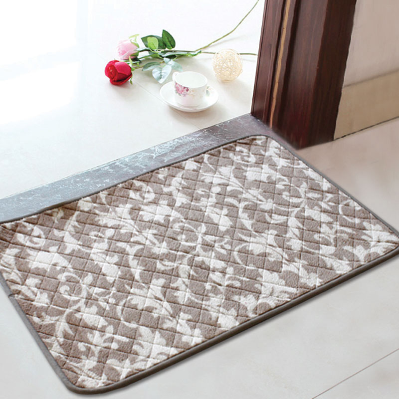 Modern Outdoor Mats Bathroom Rugs Carpets ,1PCS 7 Colors Anti Slip Bath  Mats For