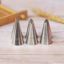 #13-18 Open Star Icing Nozzle Stainless Steel Small Size Piping Tip Cake Decorating Tips Royal Pastry Tools Bakeware