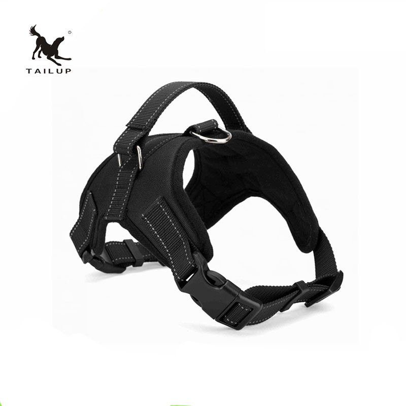 TAILUP Reflective Pet Dog Harness Padded Soft Comfort Dog Collar