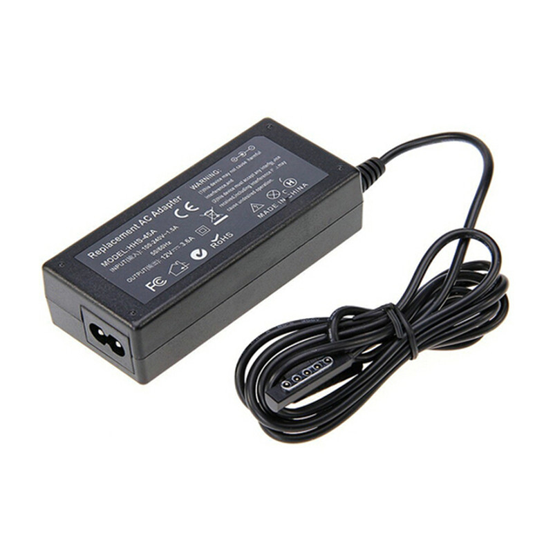 EU Plug 45W 12V 3.6A Replacement Power Supply Charger For Microsoft Surface Pro / Pro 2 10.6 Windows 8 Tablet Free