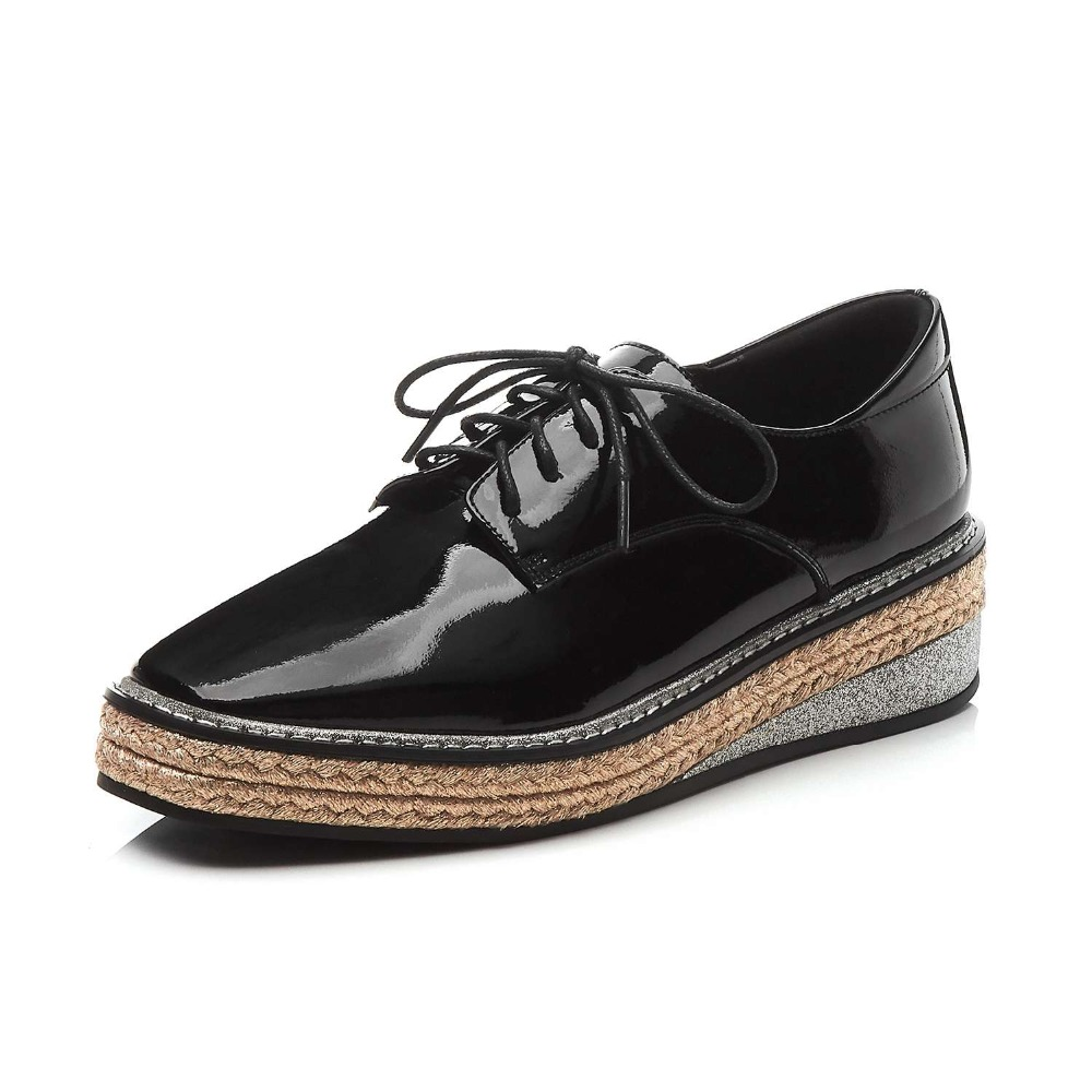 Namoro, casuais, botas de couro de moda de colarinho branco - 3