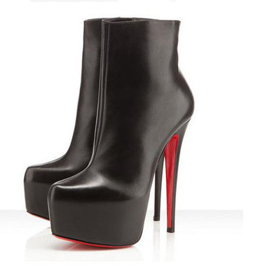 052e0612618 FASHION sexy ankle boots red bottom high heels 2014 waterproof platform  shoes for women 14 CM stiletto Wholesale