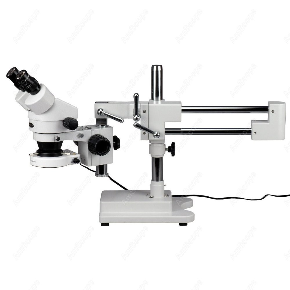 ④Circuito Microscopio de Inspección-amscope supplies 3.5X-90X ...