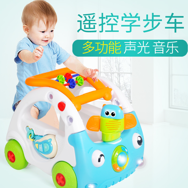 Baby Walker Baby Pushcart Step Car Toy Multi Function Speed Regulation Rollover 6-18 Months 1 Years Old