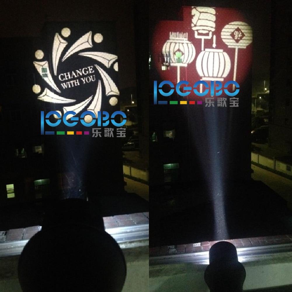 Безплатна доставка 100W LED Gobo проектор - Търговско осветление - Снимка 6