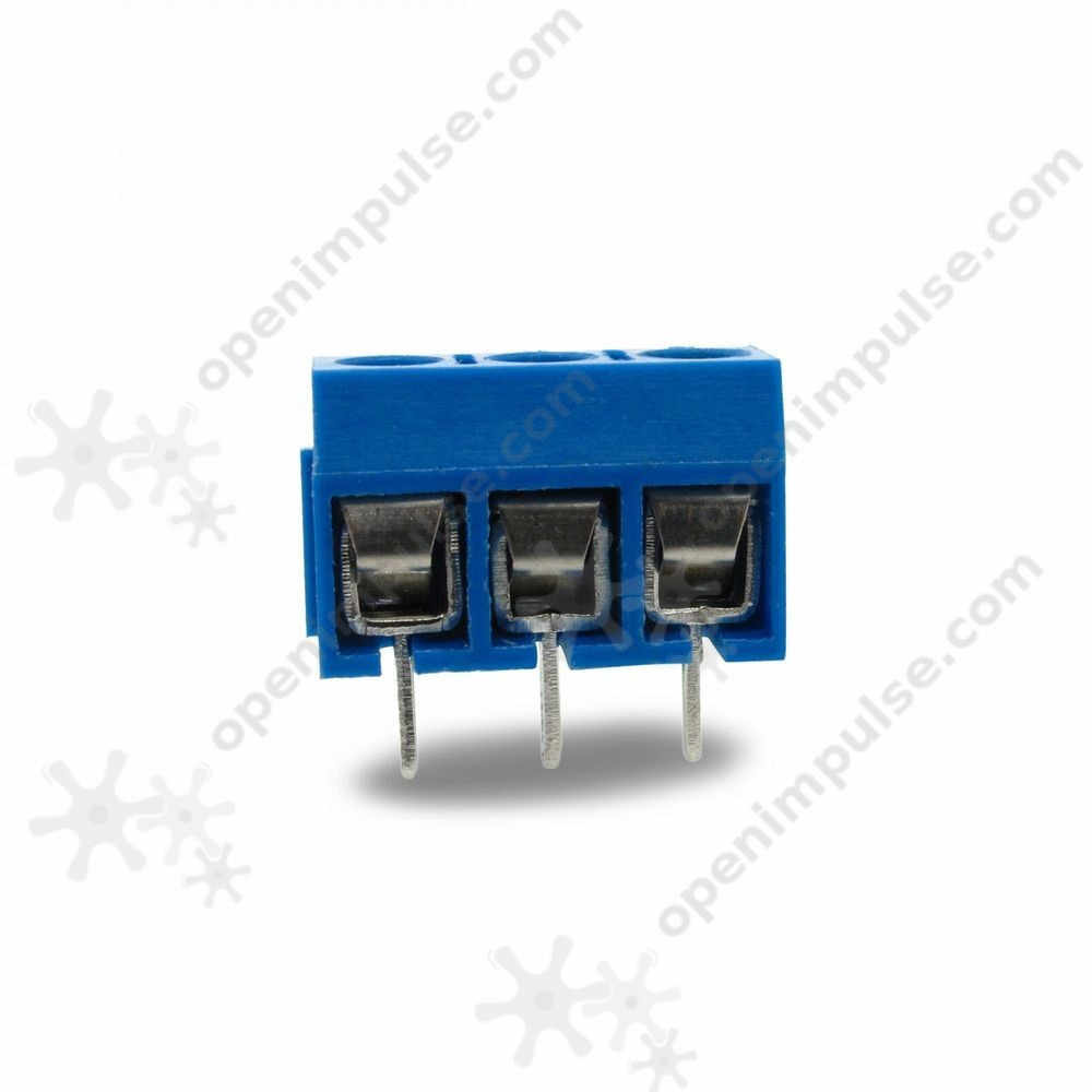 3 Pin Terminal Block Connector (5.08 mm)