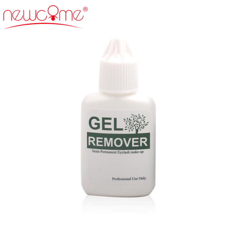 NEWCOME Remover Individual Eyelash Extension Clear Gel Lashes Safty Adhesive Eye Lashes Korea Remover Makeup Professional 15ML in False Eyelashes from Beauty Health