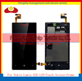High Quality For Nokia Lumia 520 N520 Full Lcd Display Touch Screen Digitizer Sensor Assembly With Frame Complete Free Shipping